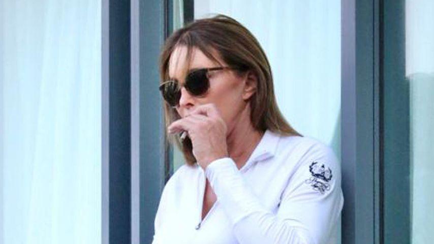 Hier raucht Caitlyn Jenner ihre letzte Kippe vorm Dschungel