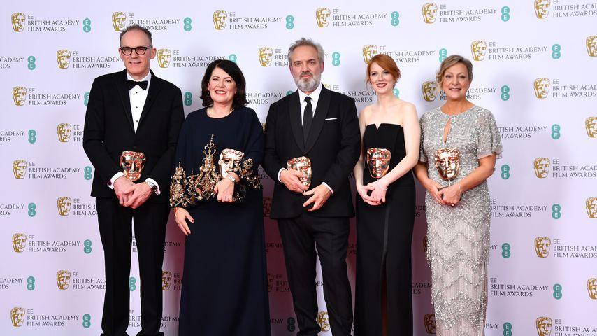 Bafta: Verleihung britischer Filmpreise von Rassismusdebatte überschattet
