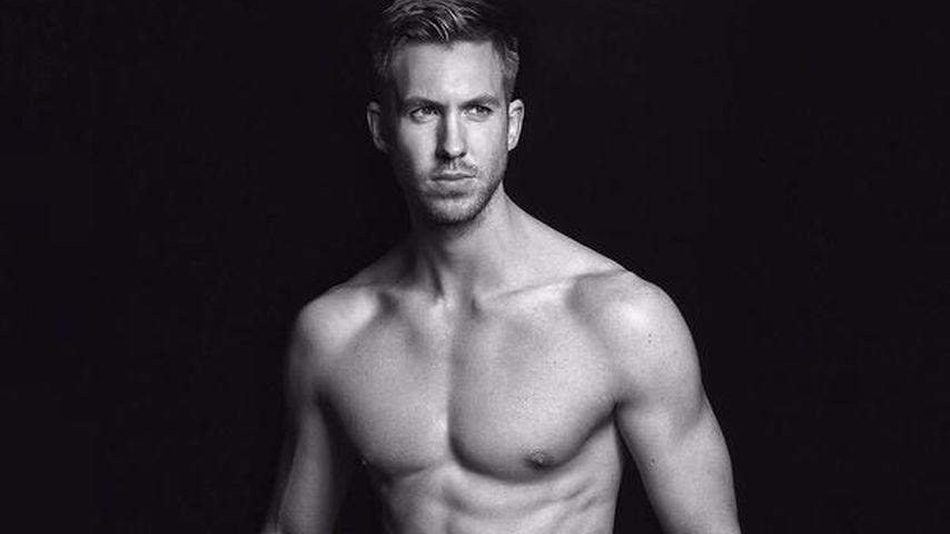Sonst nur für Taylor: Calvin Harris sexy in Unterwäsche
