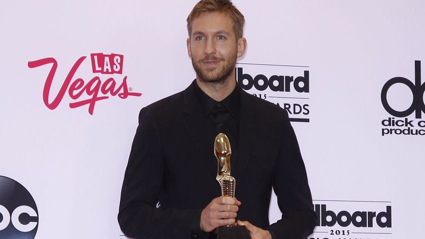 Calvin Harris mit dem Billboard Music Award