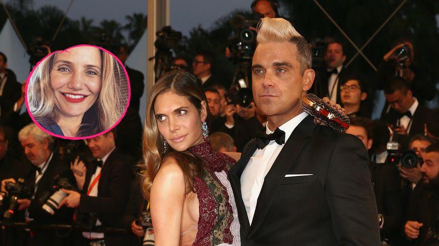 Robbie Williams verrät: Cameron Diaz rettete seine Beziehung