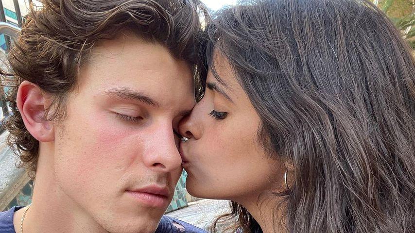 Camila Cabello und Shawn Mendes im April 2021
