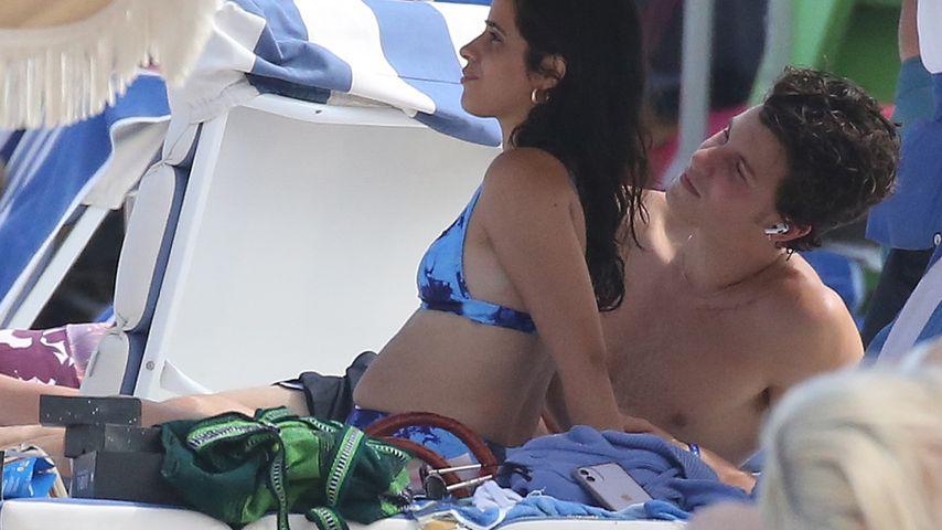Camila Cabello und Shawn Mendes am Strand von Miami