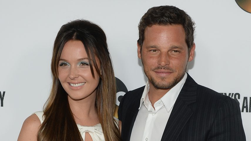 "Camilla Luddington und Justin Chambers bei der ""Grey's Anatomy""-Feier in LA im September 2013"