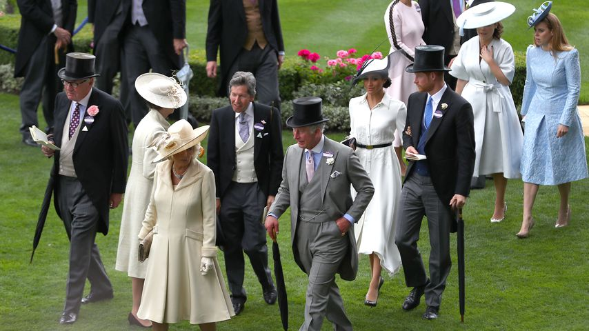 Die Royal Family beim Ascot Day 2018