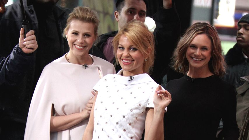 Jodie Sweetin, Candace Cameron Bure und Andrea Barber