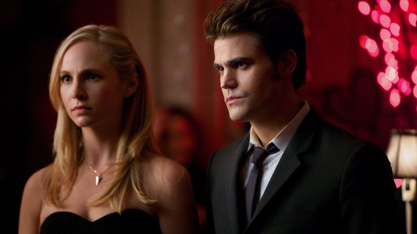 "Candice King und Paul Wesley in ""Vampire Diaries"""