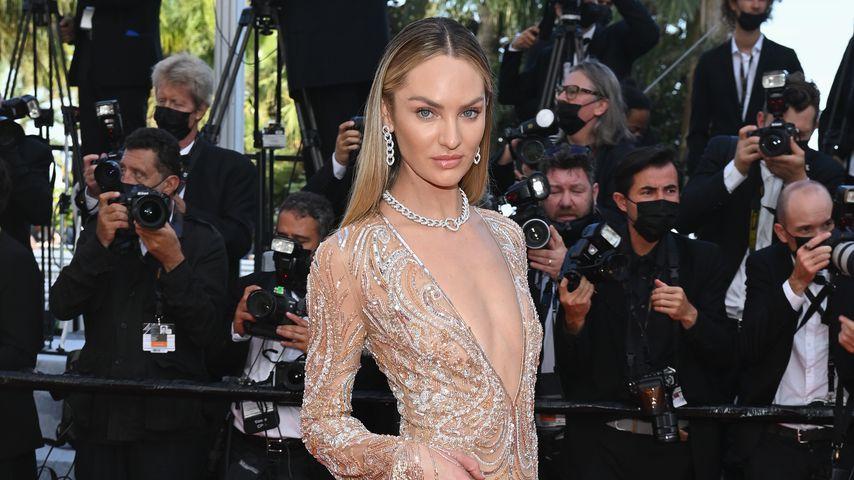 Candice Swanepoel beim Filmfestival in Cannes, Juli 2021