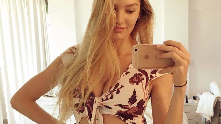 Dünner Afterbaby-Body: Candice Swanepoel von Fans gefeiert
