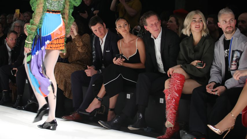 Candice Swanepoel, Stefanie Giesinger und Marcus Butler