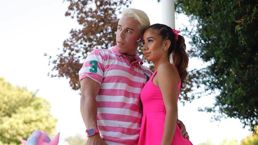 Candy Ken und Baby J im November 2020