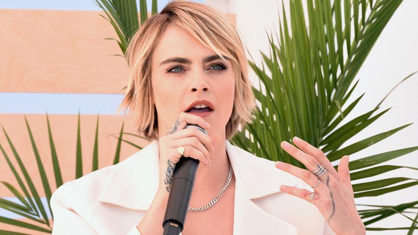 Nie wieder Laufsteg? Cara Delevingne peilt Musik-Karriere an