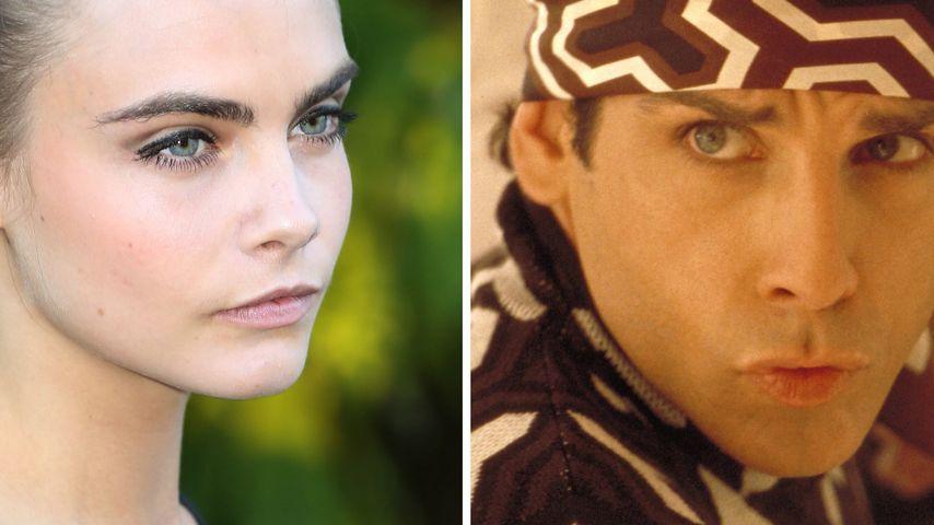 "Cara Delevingne mit Ben Stiller in ""Zoolander 2""?"