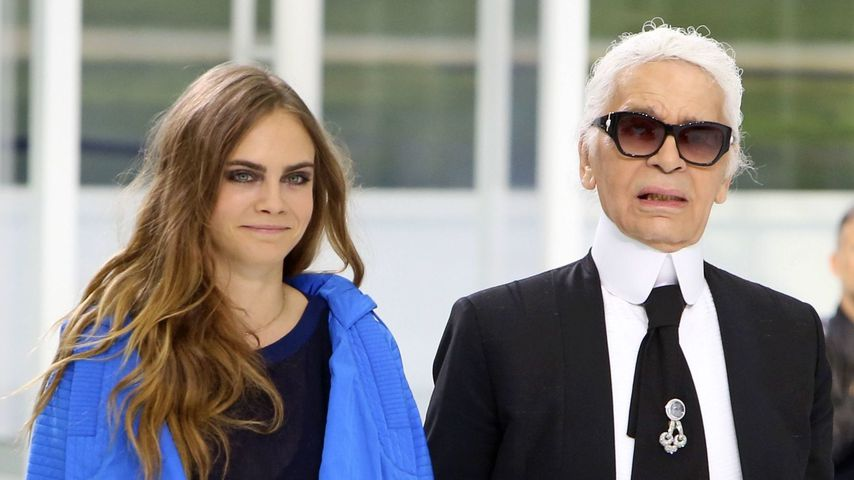 Nach Anschuldigungen: Cara Delevingne nimmt Karl in Schutz