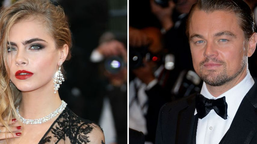 Cara Delevingne gab Leonardo DiCaprio einen Korb!