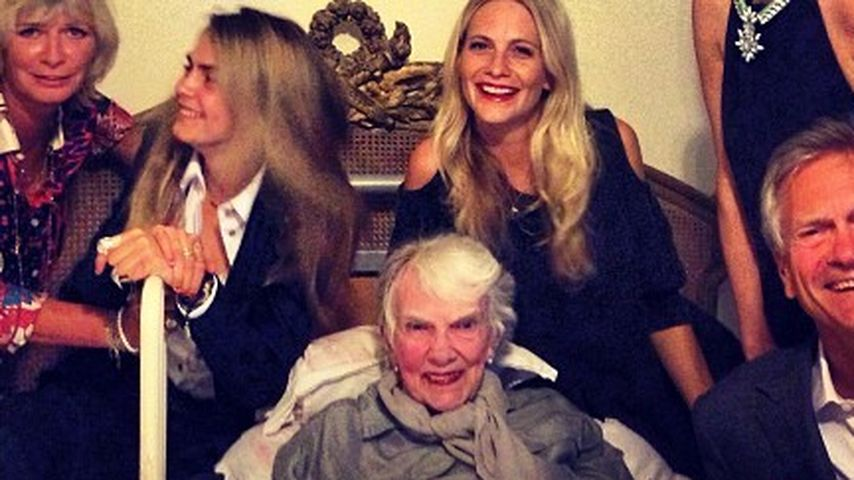 Beauty-Gene? Das ist Cara Delevingnes Familie