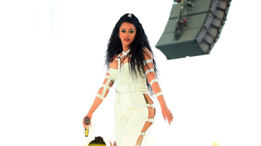Cardi B auf der Bühne