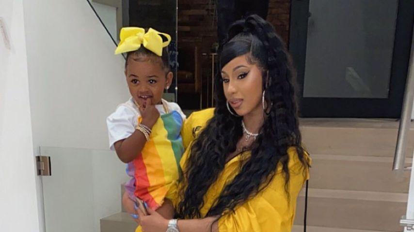 Cardi B mit ihrer Tochter Kulture Kiari