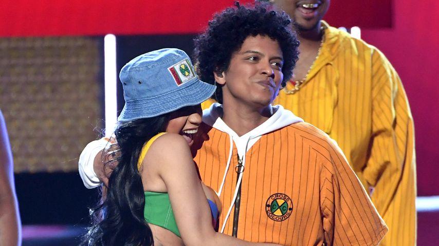 Cardi B und Bruno Mars bei den Grammy Awards 2018