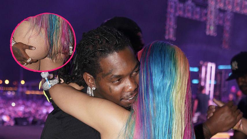 Total verknallt: Rapper Offset packt bei Cardi B richtig zu