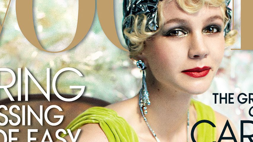 Carey Mulligan: Farbexplosion als Cover Girl