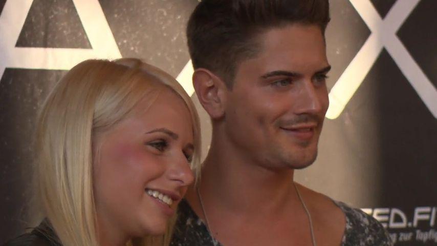 Carina Spack und Dominik Bruntner, deutsche Reality-TV-Stars