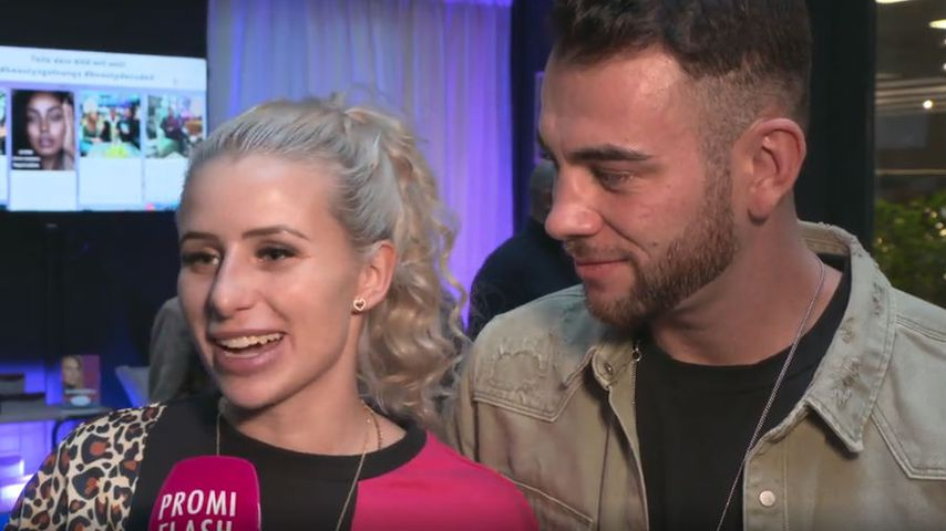 Carina Spack und Serkan Yavuz in der Beauty2Go-Lounge by Juvéderm