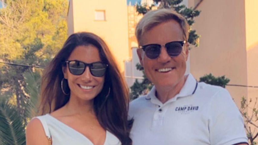 Carina Walz und Dieter Bohlen im Juli 2020