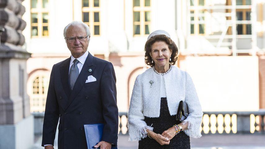 Carl Gustav und Silvia von Schweden im September 2020 in Stockholm