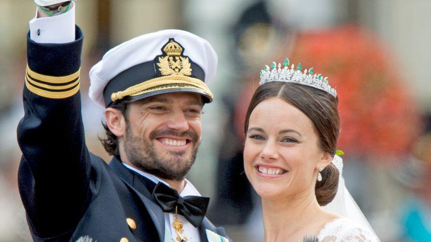 Carl Philip & Sofia: Süßes Ring-Malheur bei Adels-Hochzeit