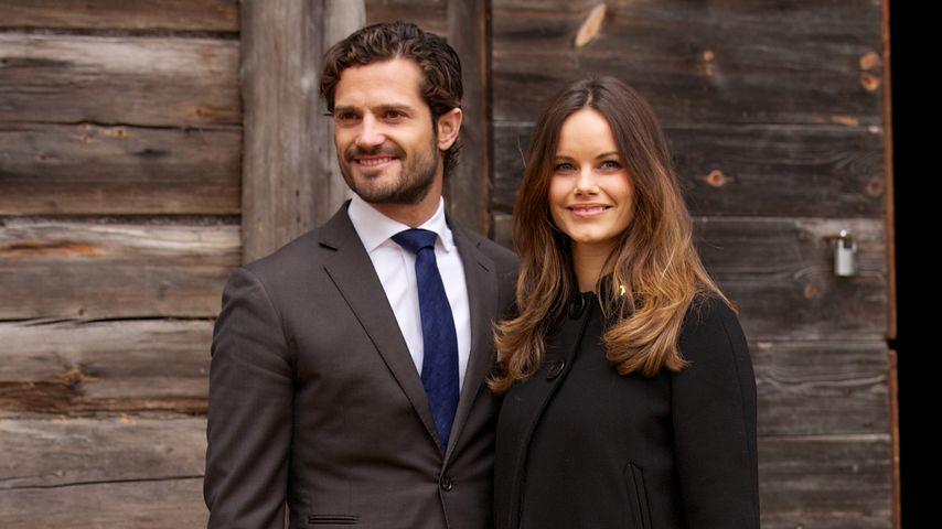 Prinz oder Prinzessin: Carl Philip & Sofia tappen im Dunkeln