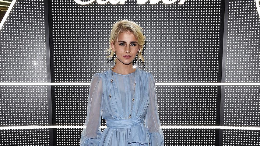 Caro Daur bei der Mailänder Fashion Week