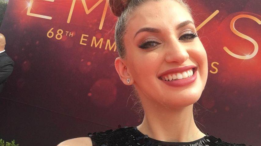 Carol Moreira bei der Emmy-Verleihung