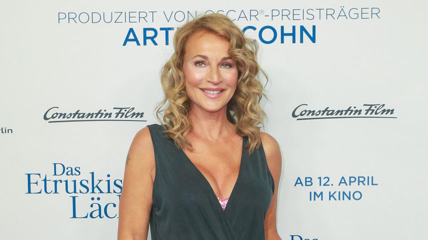 Caroline Beil auf einer Filmpremiere am Zoo Palast Berlin