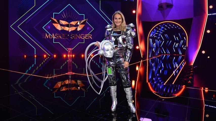 """Caroline Beil als """"The Masked Singer""""-Roboter"""