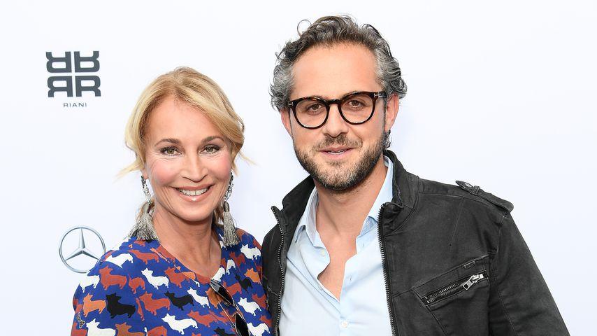 Caroline Beil und Philipp Sattler im Juli 2018
