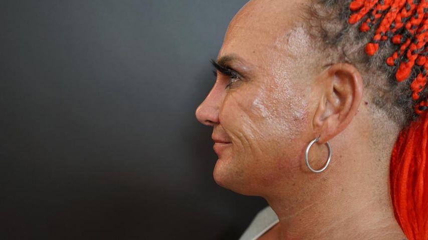 Caroline Robens nach ihrer Beauty-Behandlung
