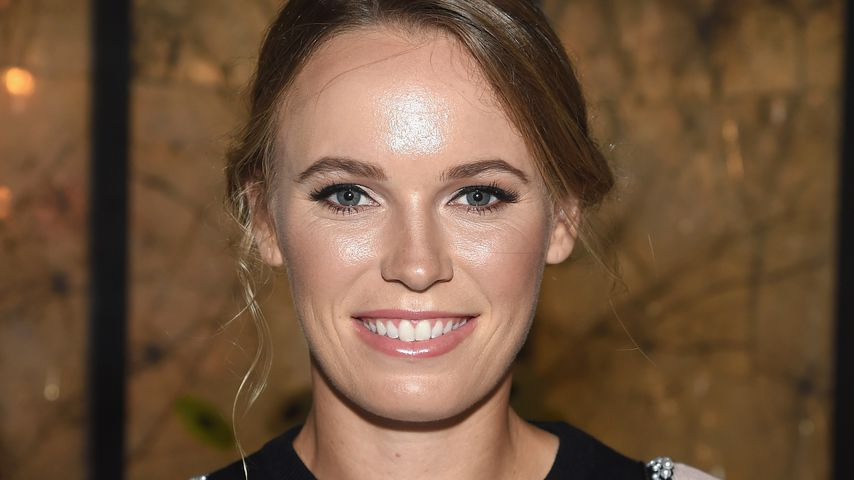 Caroline Wozniacki bei einer Fashion Show in New York