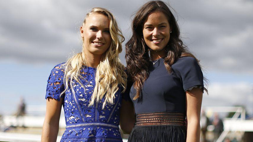 Caroline Wozniacki und Ana Ivanovic, Tennisspielerinnen