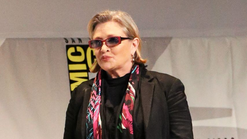 """Prinzessin Leia""-Darstellerin Carrie Fisher"