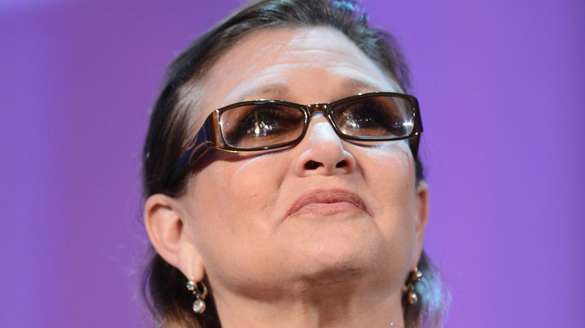 Carrie Fisher beim Venice International Film Festival 2013