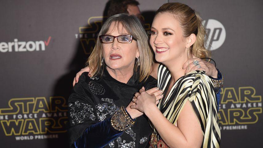 Carrie Fisher und Billi Lourd 2015
