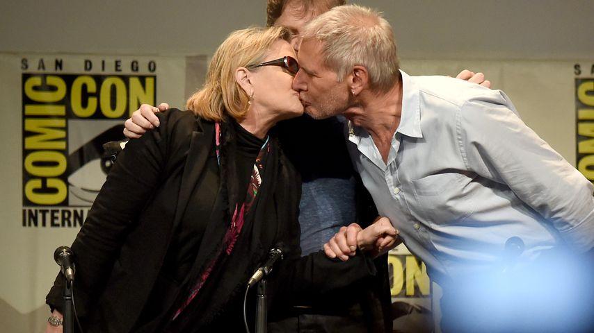 Carrie Fisher: Sie hatte eine Affäre mit Harrison Ford!