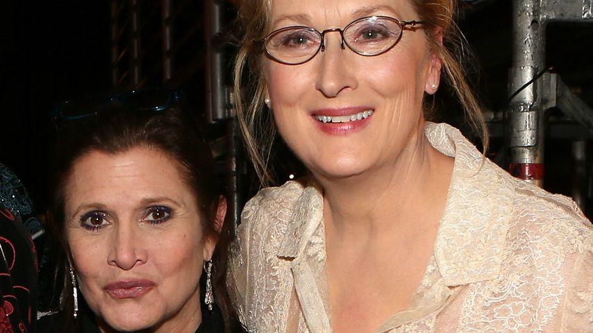Überraschungs-Kuss: Meryl Streep packt sich Carey Mulligan