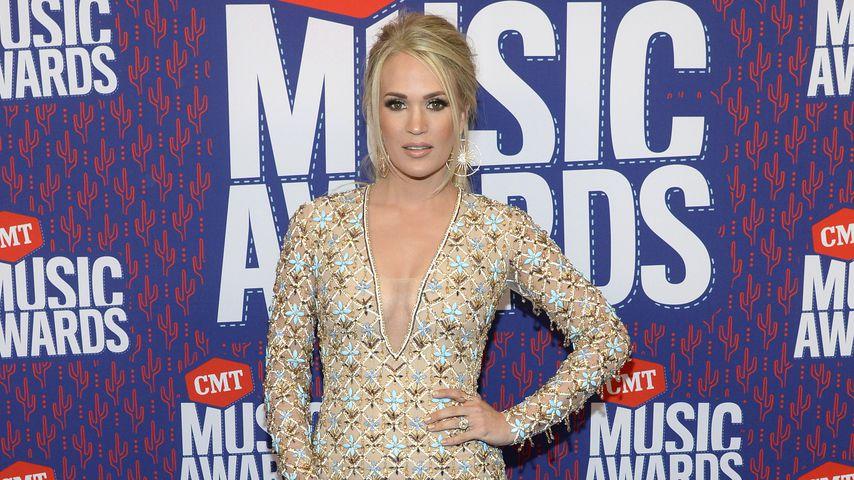 CMT Awards 2019: Countrysängerin Carrie Underwood räumt ab!