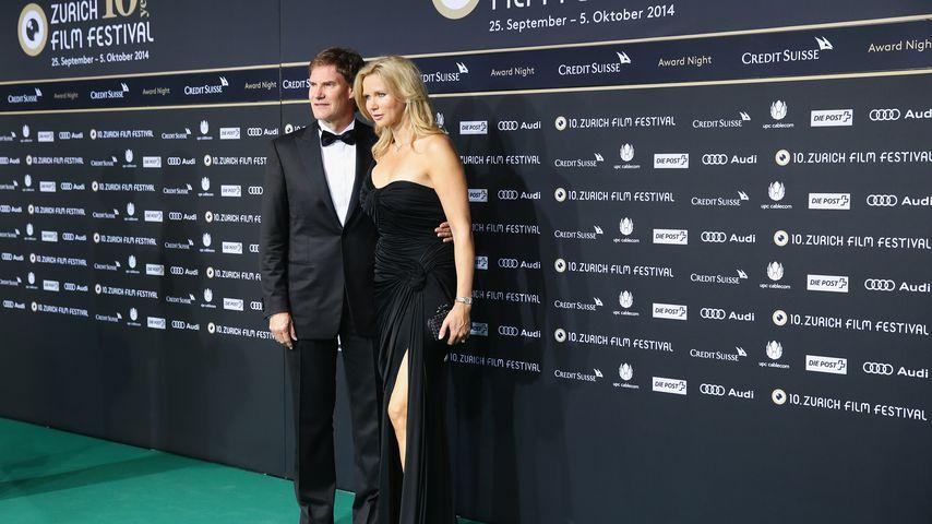 Carsten Maschmeyer und Veronica Ferres beim Zurich Film Festival 2014