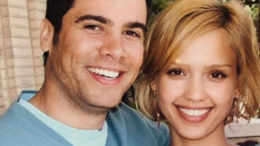 Cash Warren und Jessica Alba
