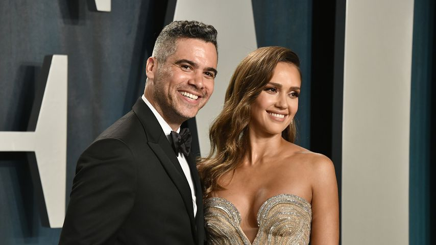 Cash Warren und Jessica Alba bei der Vanity Fair Oscar Party 2020