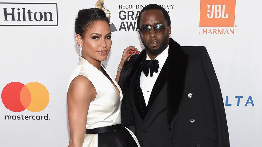 Cassie und Diddy auf einer Pre-Grammy-Gala im Januar 2018