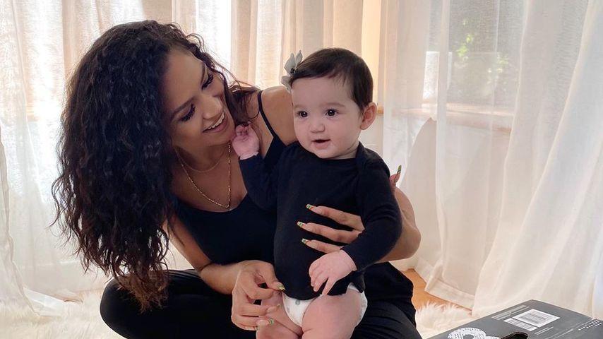 Cassie und ihre Tochter Frankie im Juli 2020